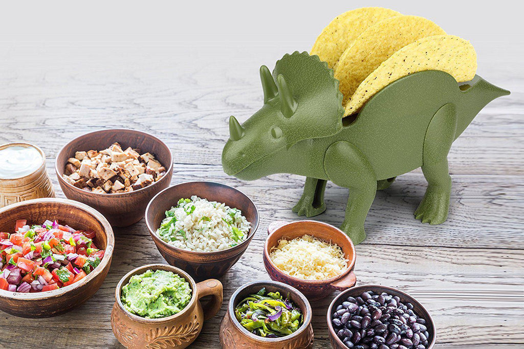 [2-Pack] TriceraTACO Taco Holder - Holds 2 Tacos-Daily Steals