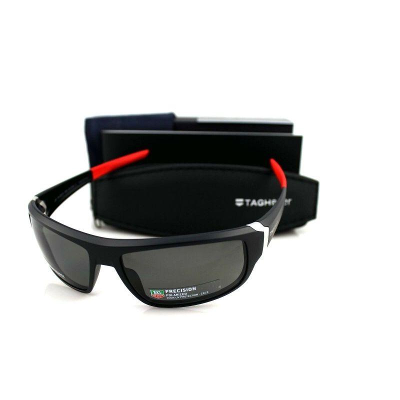 TAG Heuer Homme Racer 2 9221 Sport Wrap Around 64mm Polarized Sunglasses-Daily Steals