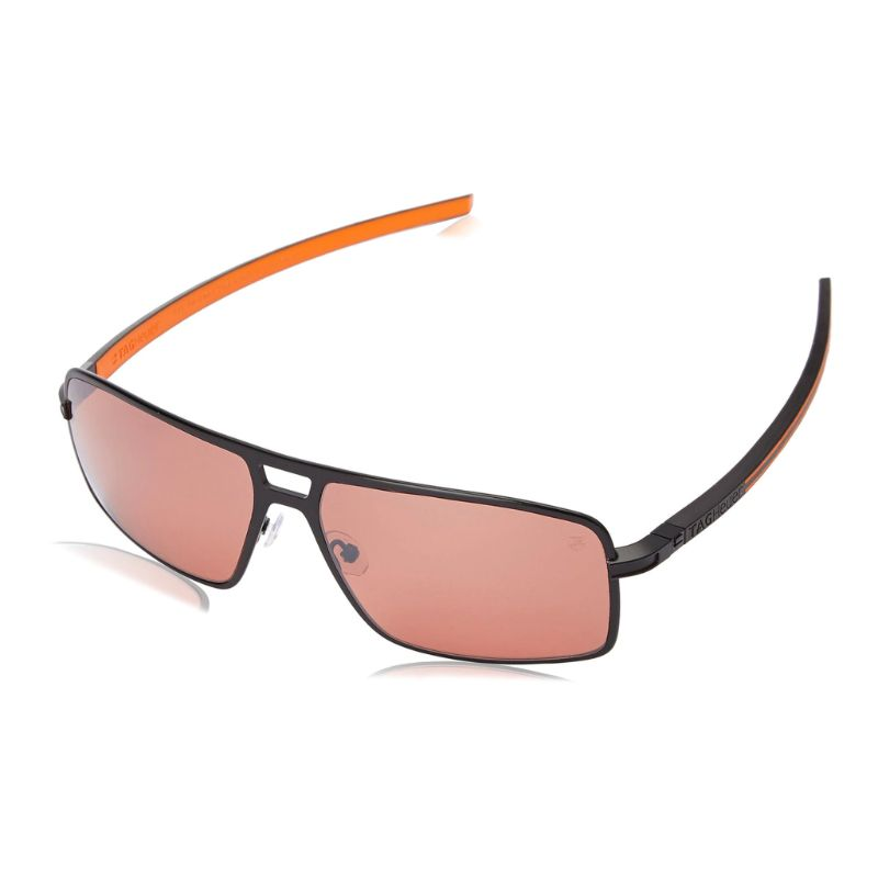 TAG Heuer 0987 204 Senna Racing Polarized Black Orange Sunglasses-Daily Steals