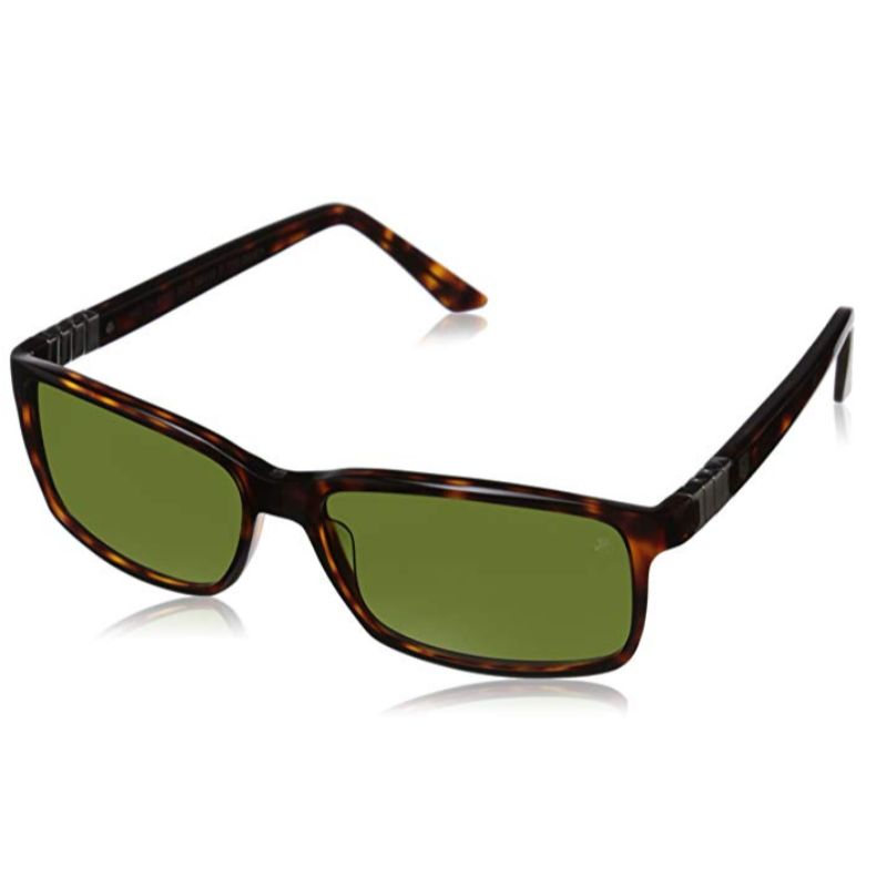 TAG Heuer Legend 9381 104 Brown Tortoise Square Sunglasses-Daily Steals