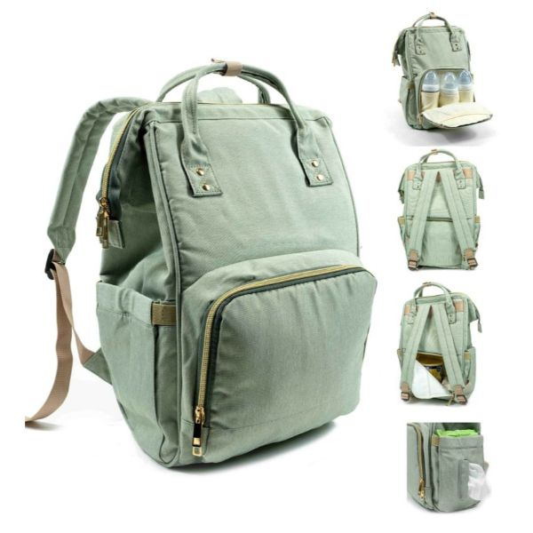 Diaper Bag Backpack- 9 Colors-Aqua-Daily Steals