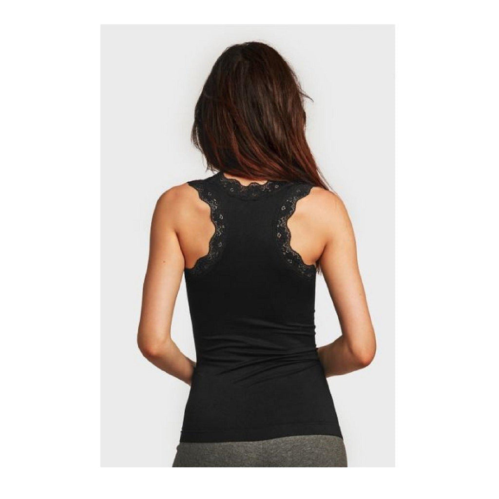 Women's Lace Tank Top - 2 Pack-Black-Daily Steals