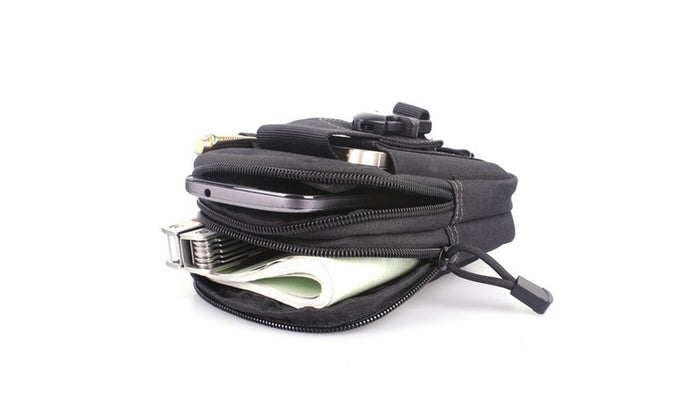 Tactical Compact Pouch and Multipurpose Utility Belt Waist Pack-Daily Steals