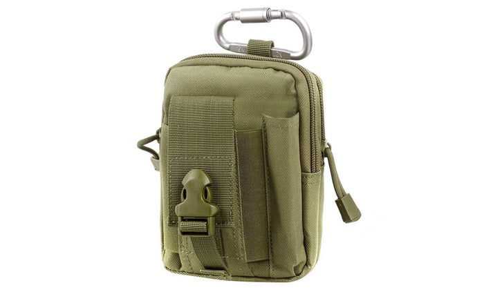 Tactical Compact Pouch and Multipurpose Utility Belt Waist Pack-Green-Daily Steals
