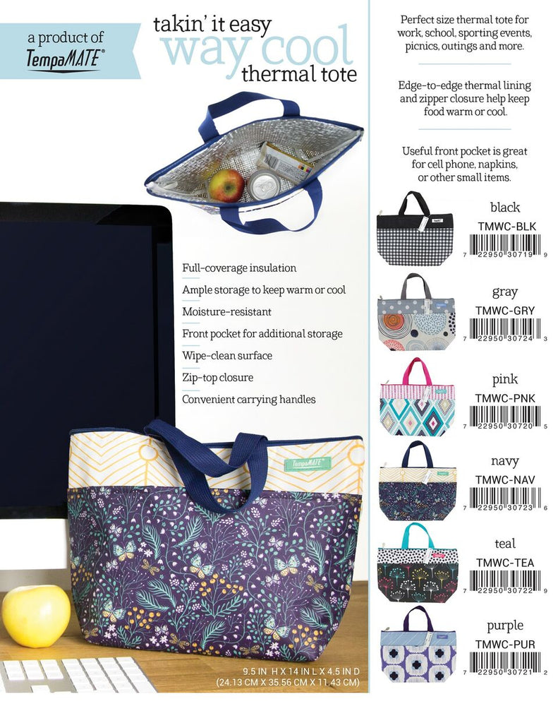 Daily Steals-TempaMATE - Insulated Thermal Tote Bag-Accessories-