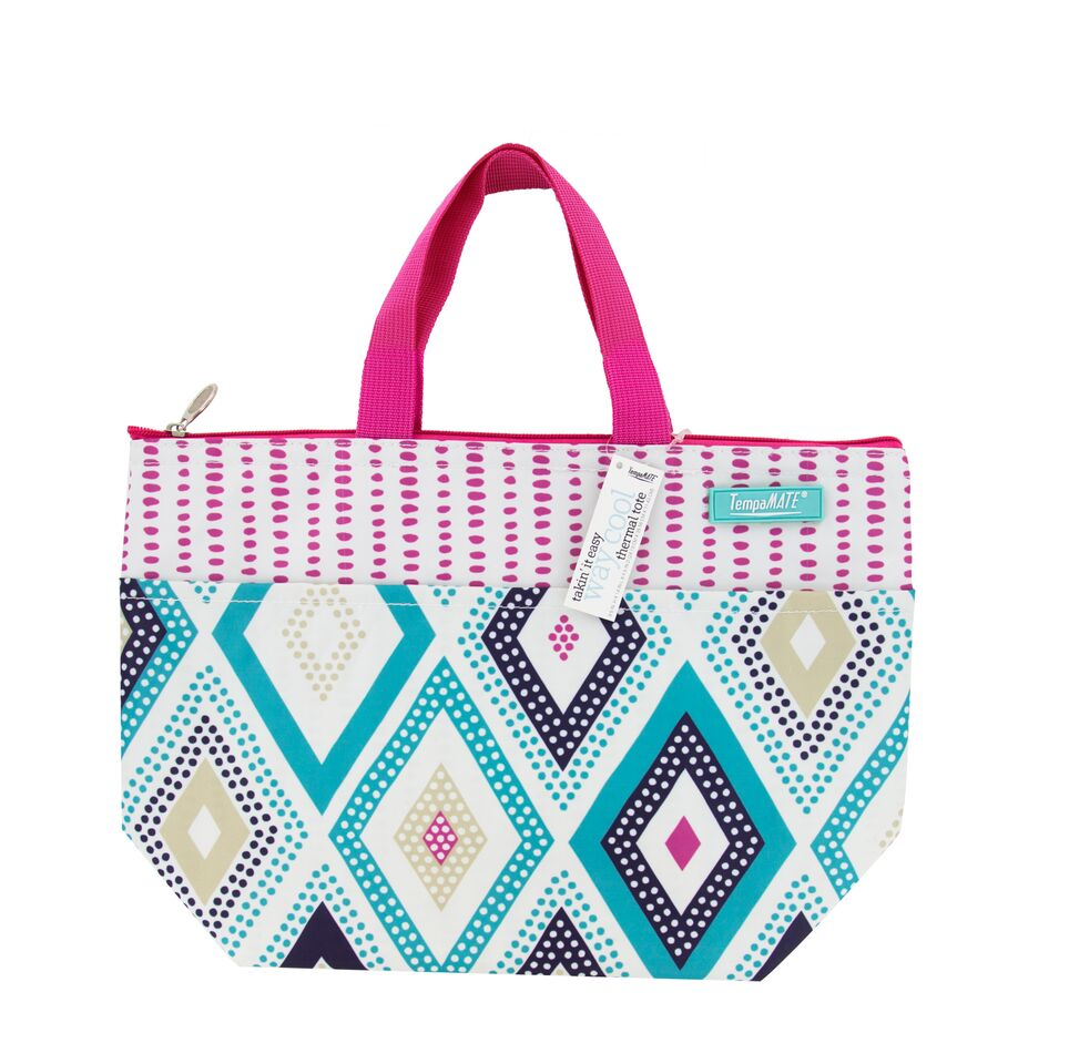 Daily Steals-TempaMATE - Insulated Thermal Tote Bag-Accessories-Pink-