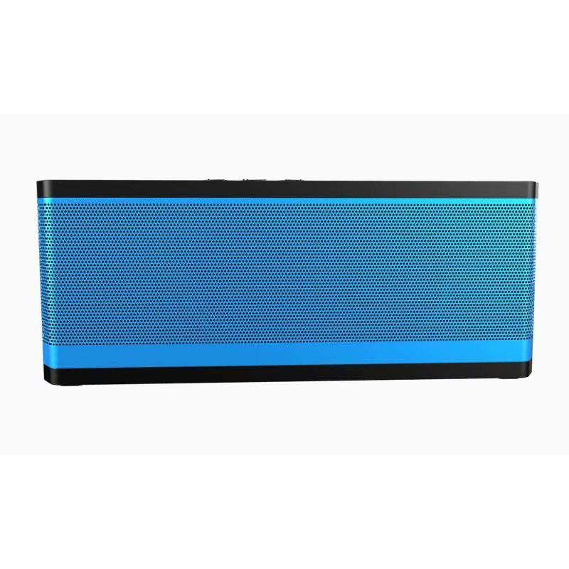 Tech Niche BT530 Water-resistant Bluetooth Speaker with Low Power Consumption-Blue/Green-