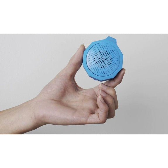 Tech Niche Mini Bluetooth Speaker with Hands-Free Calling-Gray-
