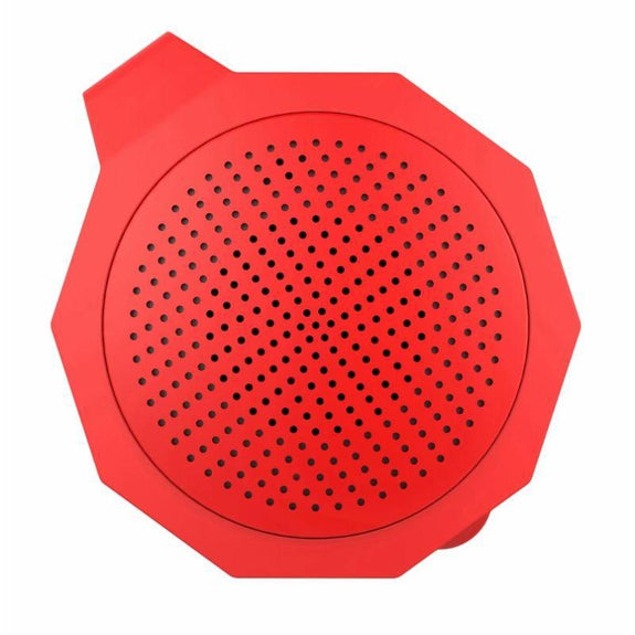Tech Niche Mini Bluetooth Speaker with Hands-Free Calling-Red-