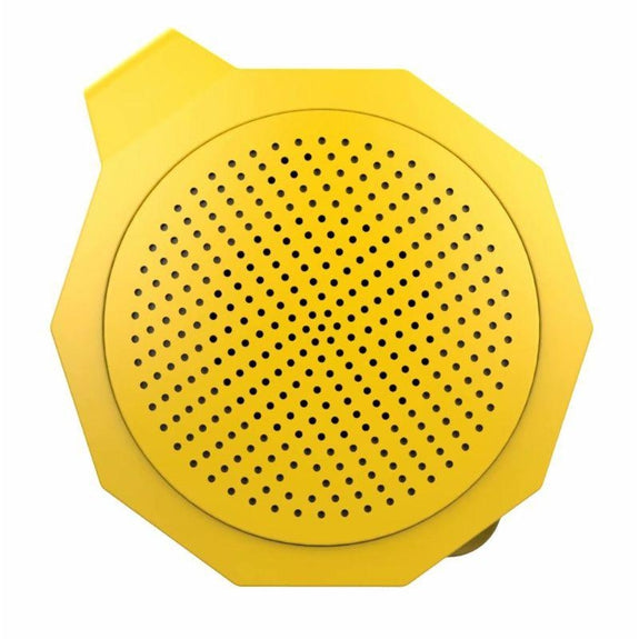 Tech Niche Mini Bluetooth Speaker with Hands-Free Calling-Yellow-