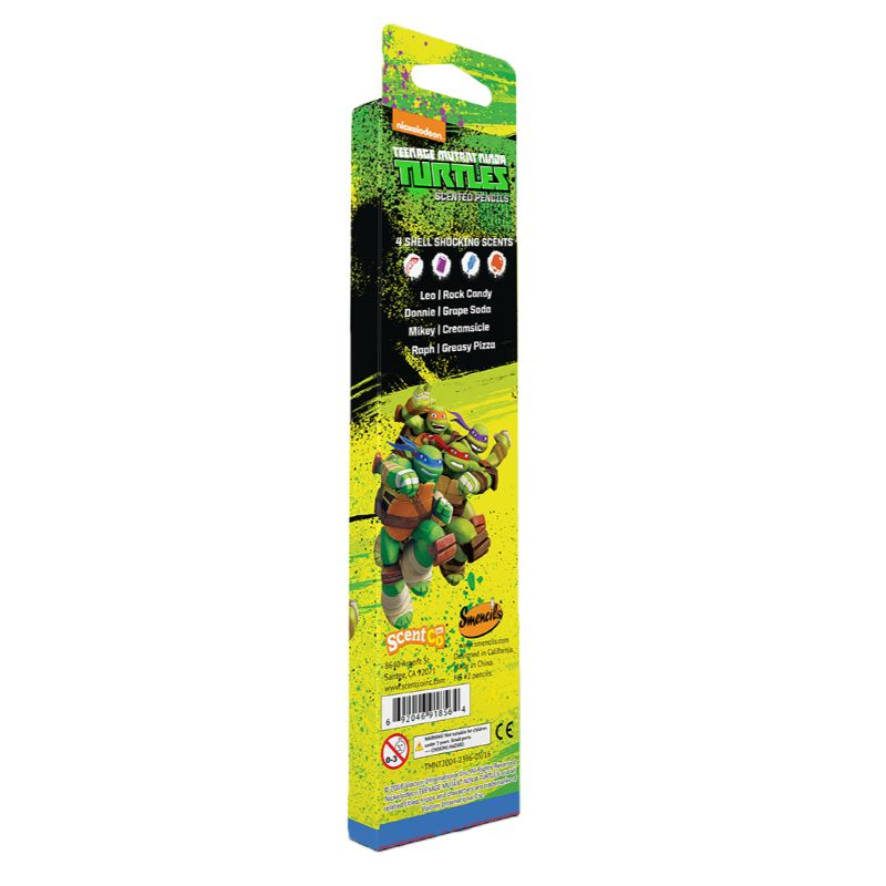 Teenage Mutant Ninja Turtles Smencils - 12 Scented Pencils-Daily Steals