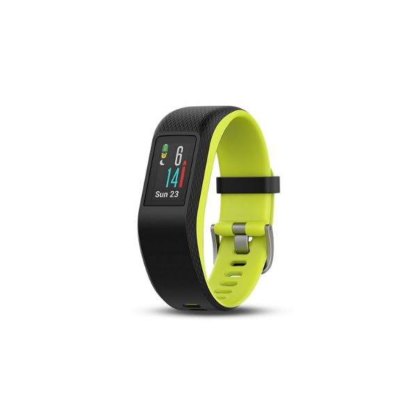 Garmin Vívosport Activity Fitness Tracker with Heart Rate & GPS-Limelight-L-Daily Steals