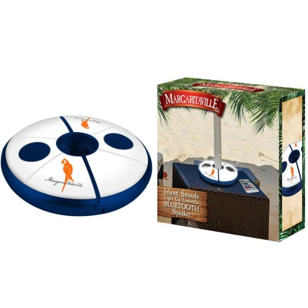 Margaritaville Sounds Bluetooth Light-Up Umbrella Speaker-Daily Steals