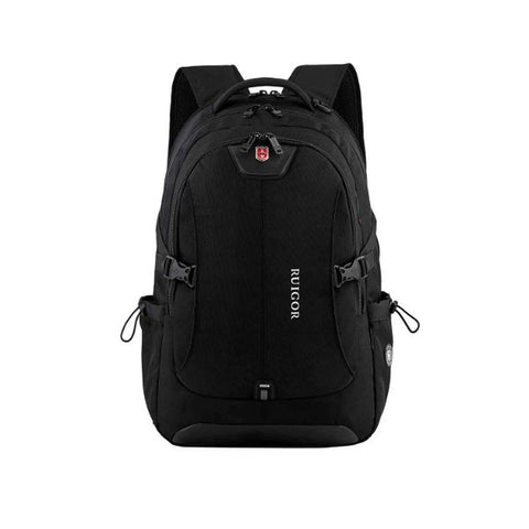 Ruigor Swiss Ruigor Icon 47 Backpack Black With Water Repellent Materials, 1.92 Oz