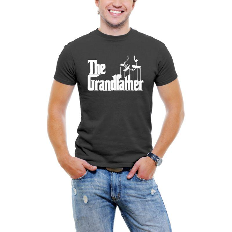 """The Grandfather"" Men T-Shirt-Black-3XL-Daily Steals"