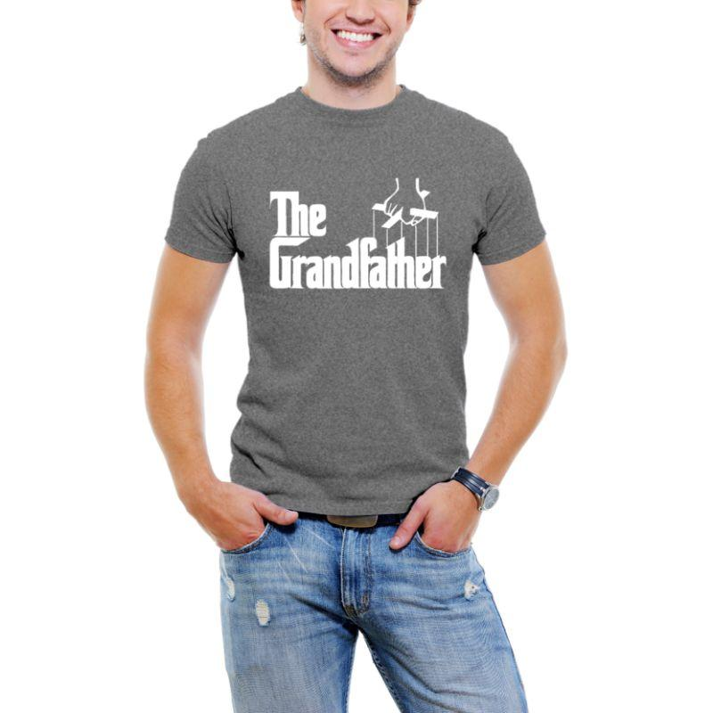 """The Grandfather"" Men T-Shirt-Dark Grey-3XL-Daily Steals"