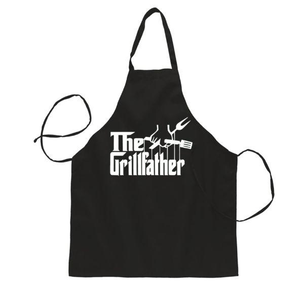Daily Steals-The Grillfather Funny BBQ Baking Cooking Apron-Kitchen-