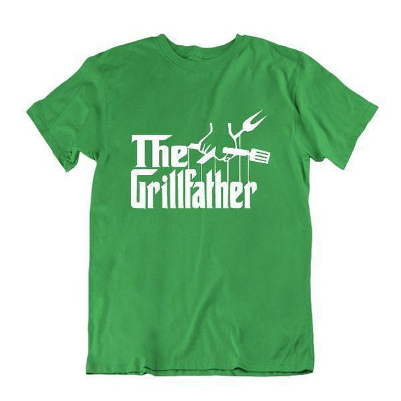 Le Grillfather 'T-shirt à griller drôle-Vert Kelly-2X-Large-
