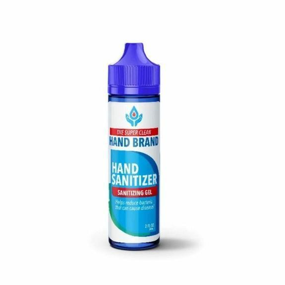 The Super Clean Hand Brand 70% Alcohol Hand Sanitizer - 2oz-1-Pack-