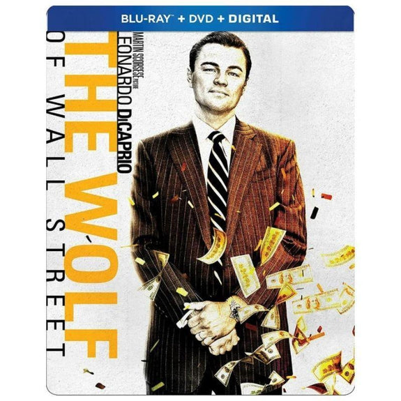 The Wolf of Wall Street (Blu-ray + DVD + Digital) SteelBook-Daily Steals