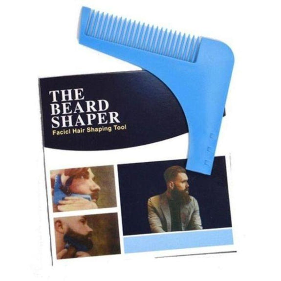 The Beard Shaper Facial Hair Shaping Tool-1-Pack-Daily Steals