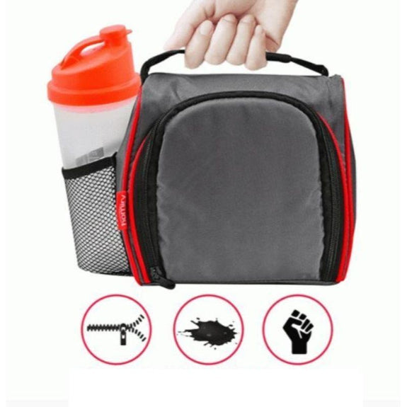 Thermal Insulated Lunch Bag with 6 Leakproof Food Containers-