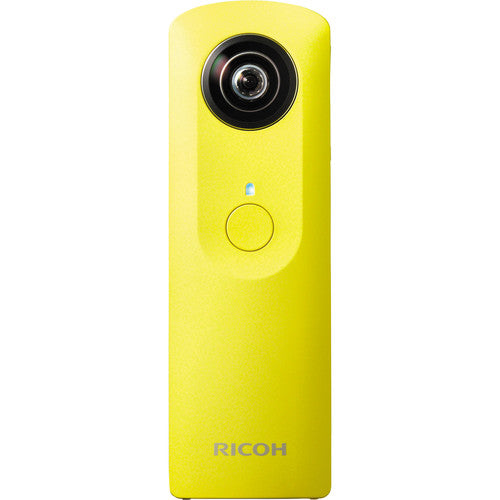 Ricoh Theta m15 Spherical VR Panorama Digital Camera-Yellow-Daily Steals