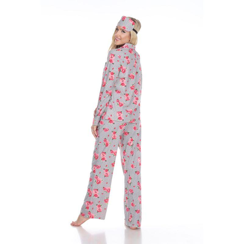 Three-Piece Pajama Set-Daily Steals