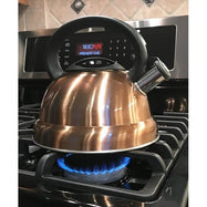 Daily Steals-Three-Quart Stainless Steel Whistling Tea Kettle with Brushed Copper Finish-Home and Office Essentials-