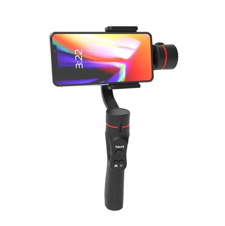 update alt-text with template Daily Steals-Tzumi SteadyGo Smartphone Stabilizing 3-Axis Gimbal-Cell and Tablet Accessories-