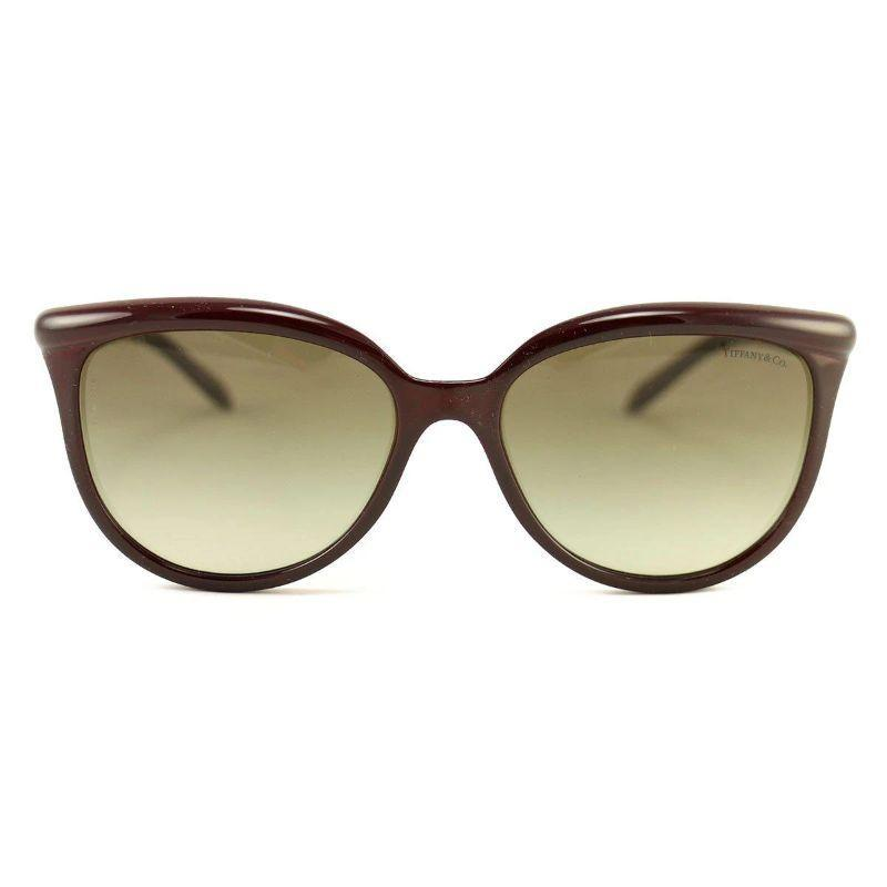 Tiffany & Co. Sunglasses TF 4093-H-8185-3M Wine Pearls Acetate 57 17 145-