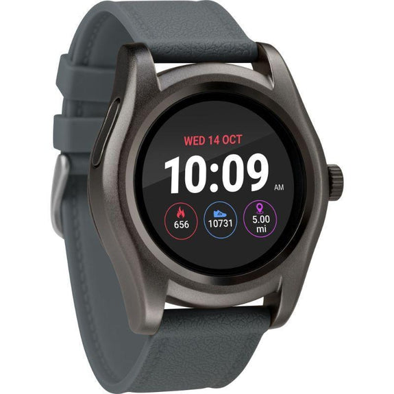 Timex Boutique iConnect Style Smart Watch-Grey-Round-