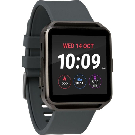 Timex Boutique iConnect Style Smart Watch-Grey-Square-