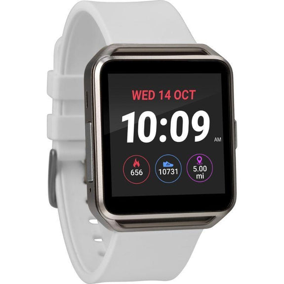 Timex Boutique iConnect Style Smart Watch-White-Square-