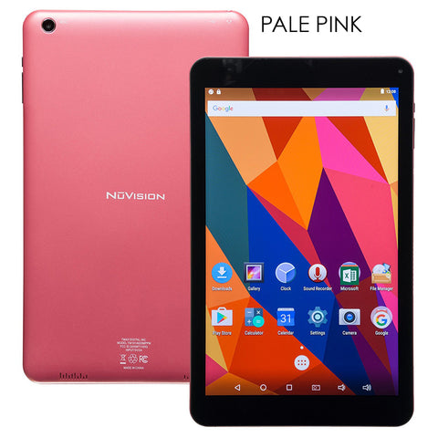 "NuVision 8"" Quad Core Android Tablet with Dual Camera"