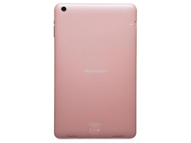 "update alt-text with template Daily Steals-NuVision 8"" Quad Core Android Tablet with Dual Camera-Tablets-Pale Pink-"