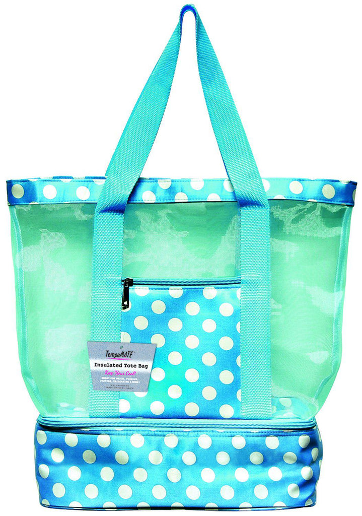 TempaMATE Two-in-One Insulated Tote Bag-Blue-Daily Steals