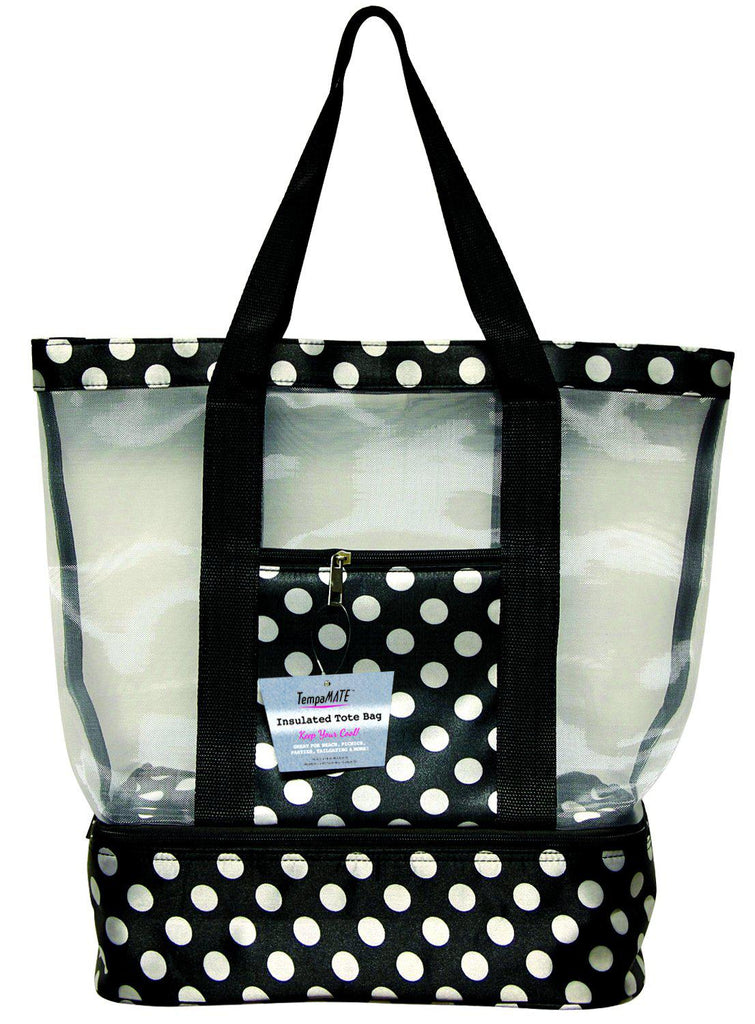 TempaMATE Two-in-One Insulated Tote Bag-Black-Daily Steals