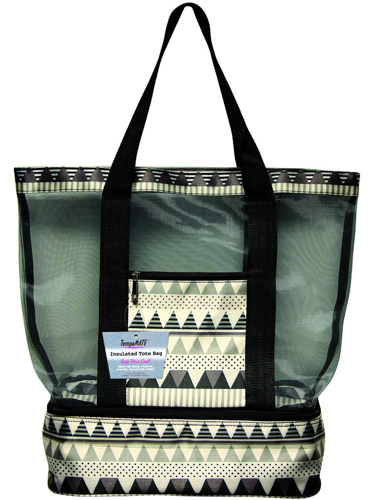 TempaMATE Two-in-One Insulated Tote Bag-Grey-Daily Steals