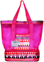 TempaMATE Two-in-One Insulated Tote Bag-Pink-Daily Steals