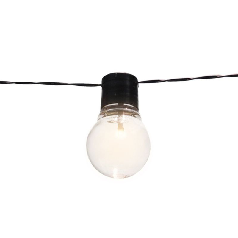 Solar 20Ft. Edison-Style Patio Lights - Socialite-Daily Steals