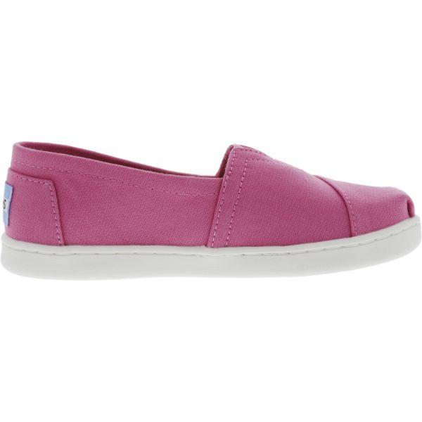 Daily Steals-Toms Classic Canvas Ankle-High Flat Shoes for Kids-Accessories-Pink-13-