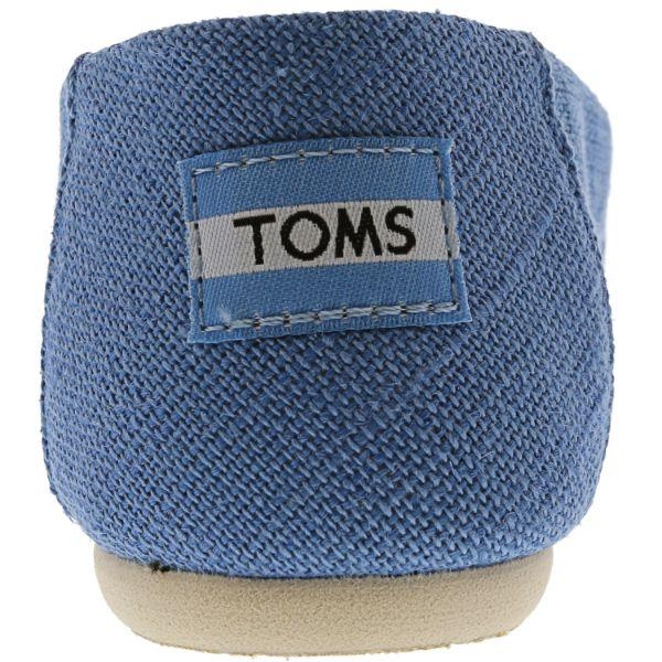 Daily Steals-Toms Classic Heritage Canvas Slip-On Shoes for Kids-Accessories-Blue-12-