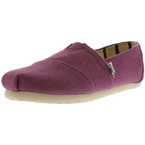 Daily Steals-Toms Classic Heritage Canvas Slip-On Shoes for Kids-Accessories-Purple-12-