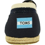 Daily Steals-Toms Men's Classic Canvas Stripe Ankle-High Slip-On Shoes-Accessories-Black-11-