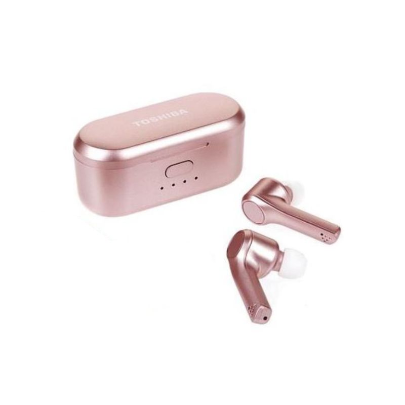 Toshiba Air Pro Truly Wireless Earbuds-Pink-Daily Steals