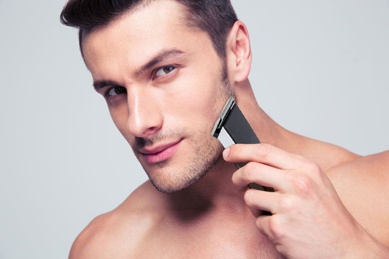 TravelMate Cordless Men's Hair Trimmer with Charging Base and Attachments-Daily Steals