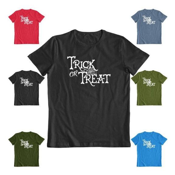 Trick Or Treat Unisex Halloween T-Shirt-Daily Steals