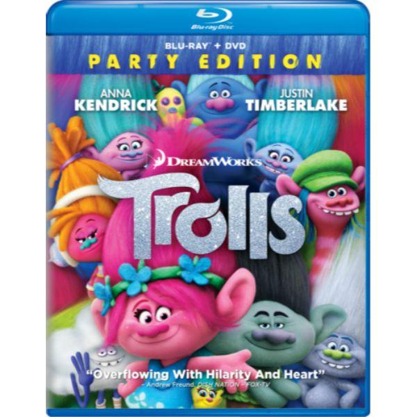 Daily Steals-Trolls: Party Edition Movie by Dreamworks (Blu-Ray + DVD)-Digital Products-