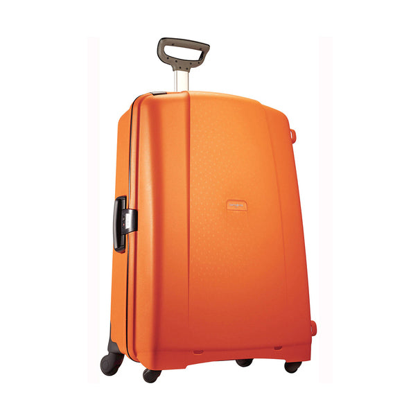 "Samsonite F'Lite GT 31"" Spinner Zipperless Suitcase-Orange-Daily Steals"